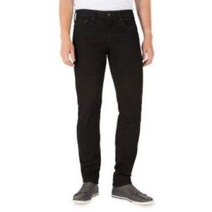 Levi Strauss 36 x 32 Skinny Flex Modern Fit Black